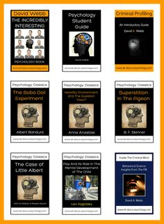 As part of the free psychology books initiative (http://www.all-about-psychology.com/free-psychology-books.html) and to celebrate reaching 100,000 likes on the All About Psychology facebook page (http://www.facebook.com/psychologyonline) all of the publications featured in the post image will be made available for free download over the next few weeks. Starting with The Incredibly Interesting Psychology book (Aug 27th/28th).  #psychology