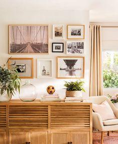 25 cosas que puedes hacer para mimar más y mejor tu casa Small Living Rooms, Home Living, Living Room Decor, Bedroom Decor, Family Rooms, Frame Wall Decor, Home Decor Wall Art, Diy Home Decor, Shabby Chic Cabinet