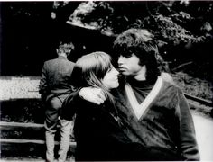 Jim Morrison  and Pam Courson