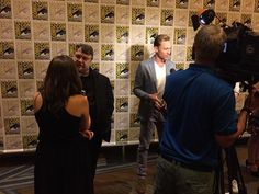 Guillermo Del Toro and Tom at SDCC 2015