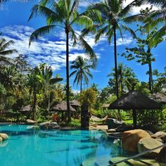 What a hot sunny day in Papua, Indonesia