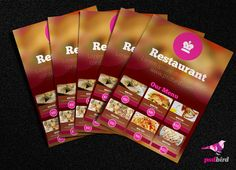 This is a Free Restaurant Menu card/Brochure PSD. It is suitable for hotel flyer design,brochure design and menu card Design . Background is blurry style and highlighted with logo & caption .Bottom of the flyer have different menu items with editable images and text .
