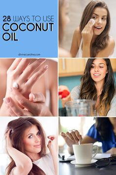 Coconut oil truly can be used for so many things.
