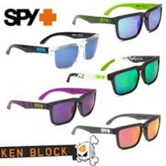 5e7256efe SPY KEN BLOCK HELM UV400 Extreme SPORTS SUNGLASSES with Box Original  Packaging Biking Racing Nascar Water Sports and More - $24