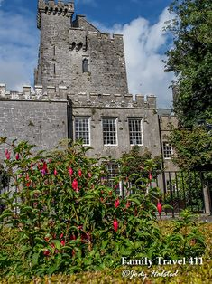 View from the garden of Knappogue Castle in County Clare - more at http://www.familytravel411.com/411-county-clare-with-kids-ireland