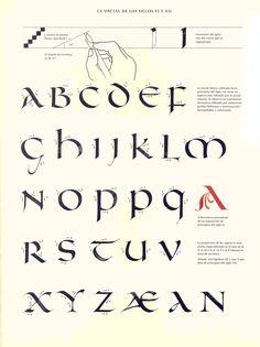 Caligrafía Uncial Siglo VI & VII
