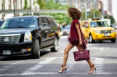 - New York Street Style Day 1 - The Cut New York Fashion Week Spring/Summer White Skirt Suit, Black And White Skirt, New York Fashion Week Street Style, Street Style Women, Fashion 2015, Fashion Addict, Fashion Fashion, Valentino Gowns, Along The Way