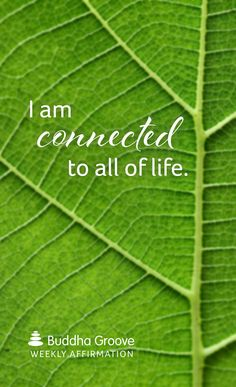 Affirmation for Oneness
