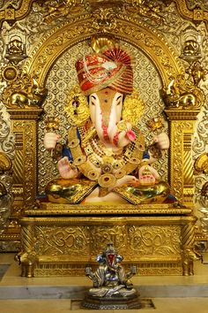 Vishal Ganesh Chaturthi Photos, Happy Ganesh Chaturthi Images, Lord Ganesha Paintings, Lord Shiva Painting, Ganesha Pictures, Ganesh Images, Dagdusheth Ganpati, Sri Ganesh, Ganesh Lord