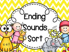Isolating Ending Sounds Sort