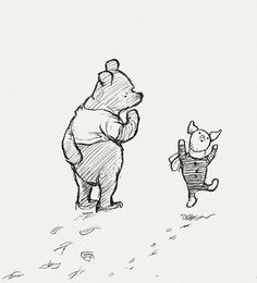 When you wake up in the morning, Pooh, said Piglet at last, whats the first thing you say to yourself?    Whats for breakfast? said Pooh. What do you say, Piglet?    I say, I wonder whats going to happen exciting today? said Piglet.    Pooh nodded thoughtfully. Its the same thing, he said.