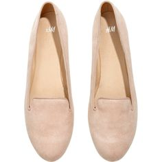 H&M Loafers (12 CAD) ❤ liked on Polyvore featuring shoes, loafers, flats, h&m, zapatos, loafers & moccasins, rubber sole shoes, flat loafer shoes and flat shoes
