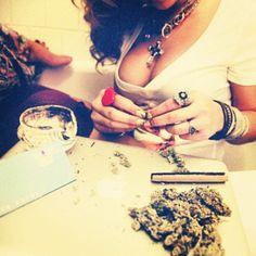 #bad #bitches & #good #weed