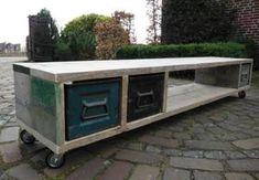 Bekijk de foto van CenG met als titel Tv meubel Industrieel en andere inspirerende plaatjes op Welke.nl.