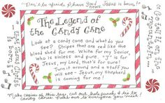 Strikingly Christmas Candy Cane Story Exquisite The Legend Of FREE Printable Tag Happy Home Fairy Candy Cane Poem, Candy Cane Story, Candy Cane Crafts, Candy Canes, Christmas Activities, Christmas Printables, Christmas Traditions, Preschool Christmas, Advent Activities