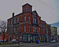 The old Masonic Lodge building in Northside -- Cincinnati, Ohio