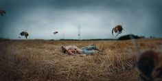 Teenager Reveals Magical World through Incredible Surreal Self Portraits