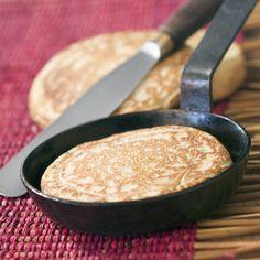 Blinis au sarrasin sans gluten, sans oeufs, sans lait, de Laurence Salomon »