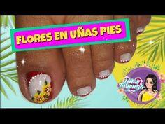Decoración Uñas Pies-Diseño Para Uñas De los pies-Uñas Turqueza - YouTube