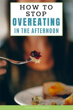 One of the most common times to overeat for women is in the afternoon. In this episode the Taste for Truth podcast, I'm discussing why the afternoon is a tempting time to overeat. I'll also give you tips for how to stop overeating in the afternoon. Healthy Body Images, Tired Of Work, Stop Overeating, No One Is Perfect, Apple Fritters, Weight Loss Tips, Something To Do, How Are You Feeling, Christian