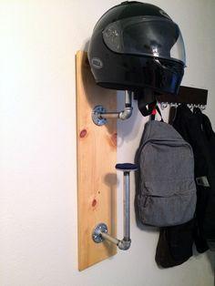 DIY Helmet Rack   Ridewell