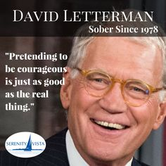 Our top ten list: 10:stay sober, 9:stay sober, 8:stay sober, 7:stay sober....get the picture? #davidlettermansober thanks for the years and years of sober laughter
