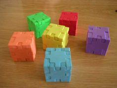 Tien dingen die 80's kids herkennen - puzzelkubus
