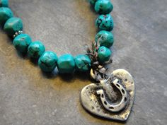 I Heart Horses necklace http://www.horsesandheels.com/2012/02/cowgirls-giveaway/