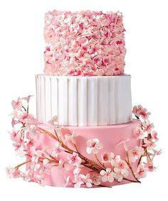 Torte nuziali rosa, le proposte più belle  (Foto 11/40) | PourFemme