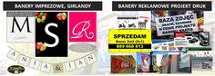 #BaneryDruk #baneryWeselne #Reklamy #Rekalma #Drukarnia At1.com.pl