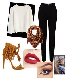 """""""Untitled #135"""" by ariannadubois ❤ liked on Polyvore featuring EAST, Chicwish, La Fiorentina and Jouer"""
