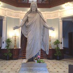 Christ statue - Johns Hopkins Hospital