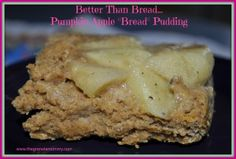"""Better Than Bread Pudding - Crock Pot Pumpkin Apple """"Bread"""" Pudding (Low Fat, Healthy) Found it Fridays #1 Best of the Week - Grassfed Mama"""