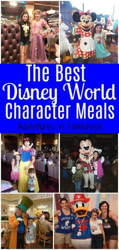 Character meals at Walt Disney World are a great way to meet characters and have a good meal. But which ones are worth your time and money? The experts weigh in. Disney World Tipps, Disney World Characters, Disney World Food, Disney World Planning, Disney World Tips And Tricks, Character Dining Disney World, Disney Character Meals, Dining At Disney World, Disney Dining