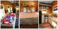Proof That a Bathtub, Queen-Size Bed, and a 6-Foot-Tall Man Can All Fit Into One Tiny House   - CountryLiving.com