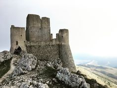 """Rocca Calascio, Abruzzo Italy - Dal Film """" Lady Hawke"""""""