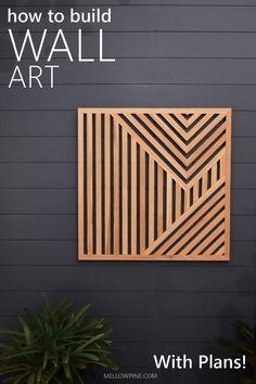 Rustic Wood Walls, Wooden Wall Decor, Wooden Wall Art, Diy Wall Art, Diy Art, Wall Art Decor, Wood On Walls, Art On Wood, Wood Interior Walls
