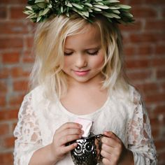 Some sweet fashions for the littlest members of your wedding party. Photo by Nicole Berrett