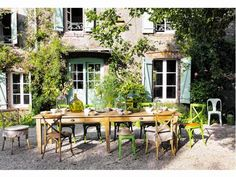 Méchant Studio Blog: want a farm table...