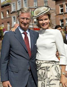 Le roi Philippe et la reine Mathilde ont effectué leur deuxième joyeuse entrée à Wavre, en Brabant wallon