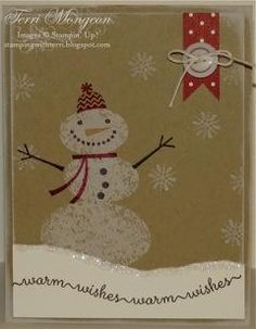 stampin up snow day - Google Search