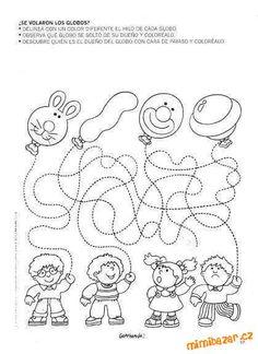 od Kinder world. Preschool Learning Activities, Free Preschool, Kindergarten Writing, Motor Activities, Teaching Kids, Kids Learning, Pre K Curriculum, Printable Preschool Worksheets, English Worksheets For Kids