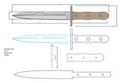 tops_wind_runner_XL Model (1).pdf - OneDrive Knife Template, Diy Knife, Knife Patterns, Belt Grinder, Custom Knives, Knife Making, Blacksmithing, Man Cave, Projects To Try