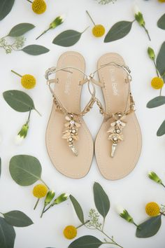 259a93e8a14aec Preorder now for late April delivery - Agatha - Wedding sandals - Bohemian  and Grecian