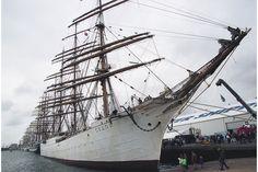 Tall Ship Race in Aalborg, Denmark  | barque-Sedov-during-Cutty-Sark-tall-ship-race-2001-in-Esbjerg-Denmark ...