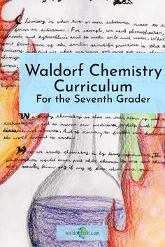 Check out our fully online, seventh grade Waldorf chemistry course now! Support for the at-home and classroom educator, our curriculum has everything you need. Get started today! | waldorfish | middle school science | chemistry | homeschool | homeschool classroom | Waldorf Education | curriculum planning | science curriculum | Waldorf Curriculum, Science Curriculum, Waldorf Education, Brian Wolfe, Block Scheduling, Chalkboard Drawings, Curriculum Planning, Online Classroom, Science Chemistry