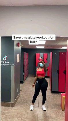 Leg And Glute Workout, Buttocks Workout, Slim Waist Workout, Gym Workout Videos, Workout Ideas, Fitness Workout For Women, Fitness Goals, Fitness Tips, Fitness Motivation