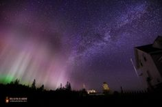 This image shows the Northern Lights and the Milky Way over Pemaquid Point Lighthouse, Maine on March 17, 2013. Photographer Mike Taylor modified the image to reflect the less-dramatic colors and hues seen by the naked eye.