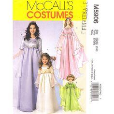 McCalls 5906 Girls Princess Costume Pattern by finickypatternshop, $8.75