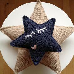 FREE Star Amigurumi Crochet Pattern and Tutorial by Hvadbiertaenker thanks so xox scroll down nb.